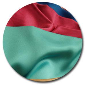Ткань сатин с разными цветами