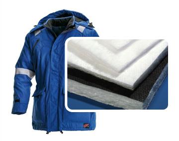 Куртка из утеплителя полиэстера 100