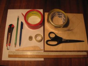 Набор инструментов для изготовления манекена для борьбы