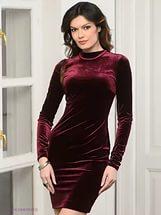Платье из велюра1