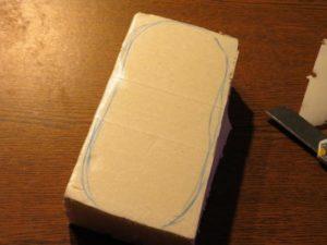 Процесс создания манекена для пинеток 1