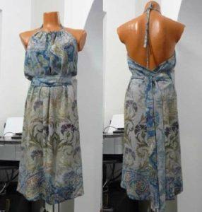 Второй вариант платье из вискозы