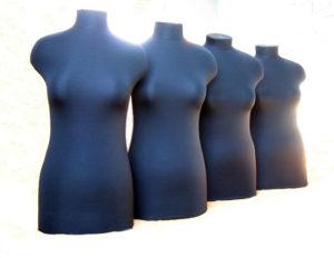 Женские манекены - размеры манекенов