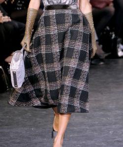 Зимняя юбка из кашемира