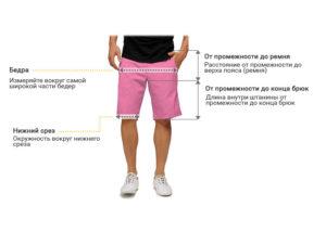 Мужские-шорты