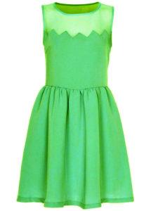 Полиэстеровое платье