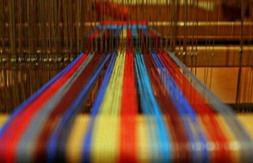 Процесс создания волокон из полиэстера