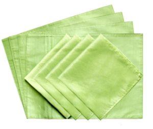 Ткань шелк в сравнении с полиэстером