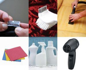 Способы чистки велюровой ткани в мебели