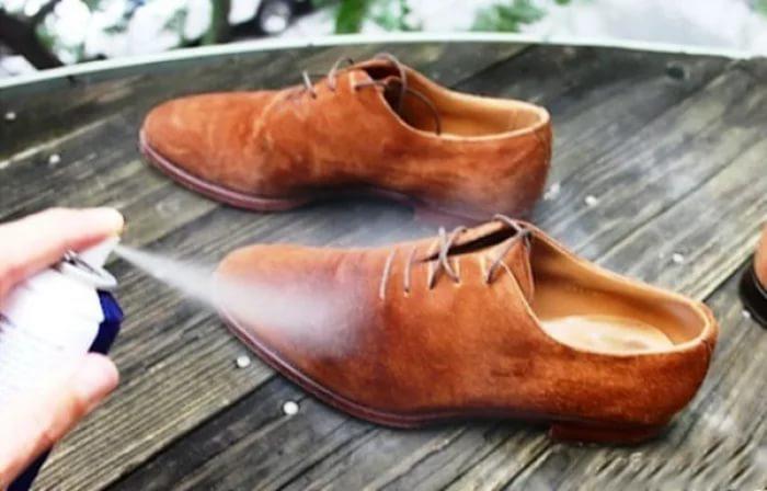 Кход за замшевой обувью