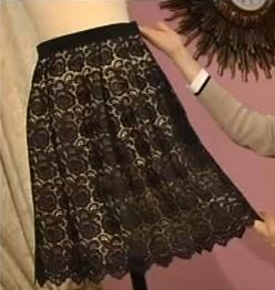 Кружевная юбка1