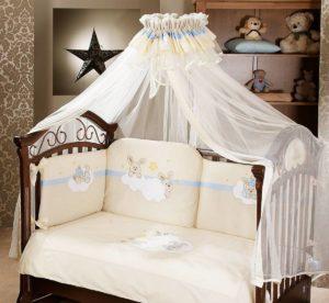 Комплект постельного с балдахином