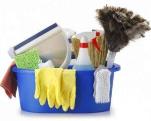 Влажная уборка в шкафу