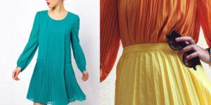 Нюансы обращения с плиссированной одеждой