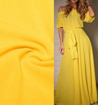 Ткань шифон стрейч платье