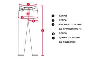 Мужские-брюки