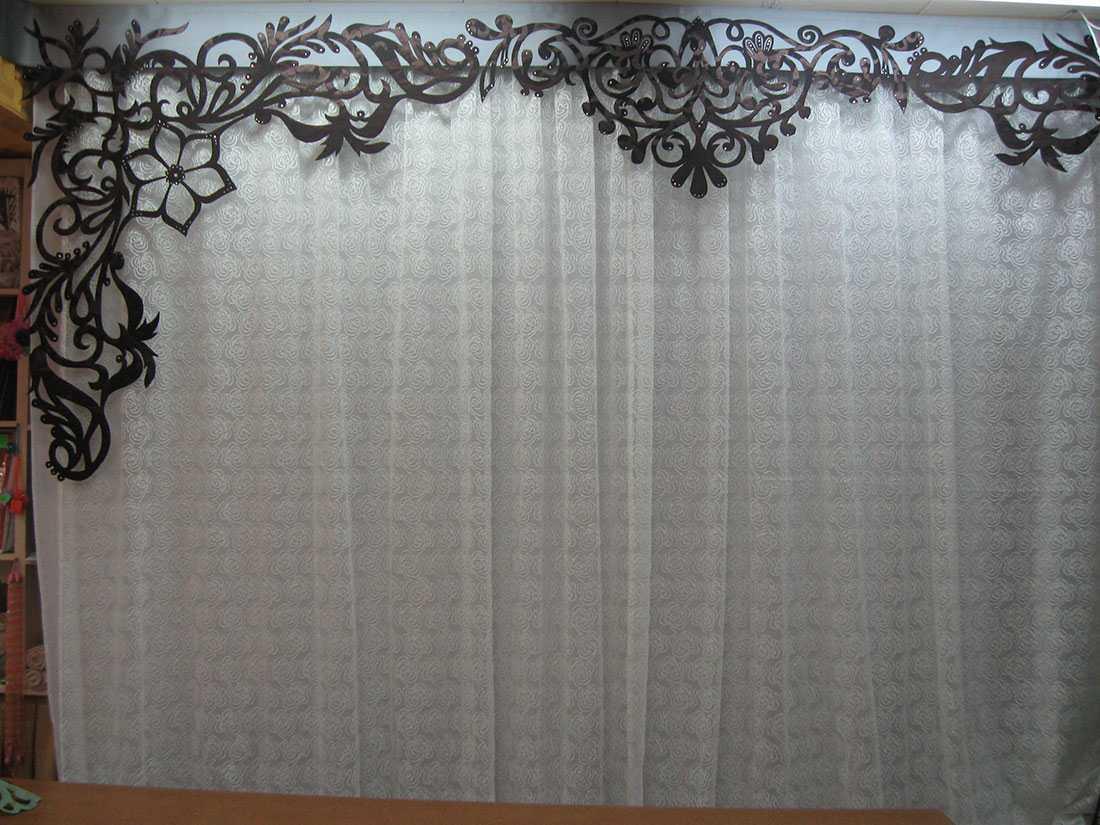 как украсить шторы 4