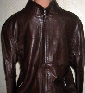 Куртка из екокожи