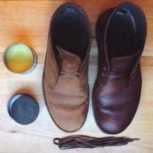 Покраска обуви из дермантина