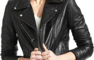 Растягивание куртки из кожзама