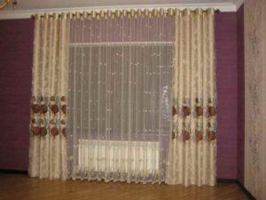 Занавески в комнате