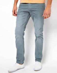 Мужские джинсы Слим