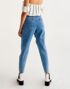 Mom fit джинсы