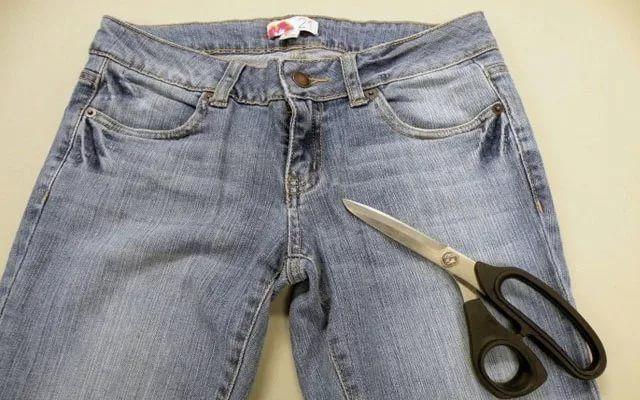 Джинсы и ножницы