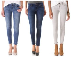 Skinny fit джинсы