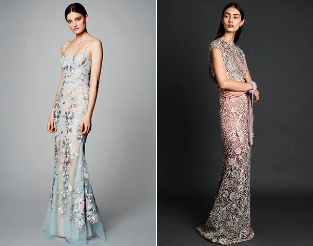 Платье из габардина