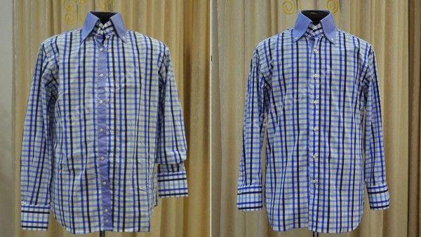 Как укоротить рукава на рубашке с манжетой