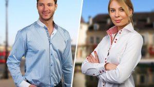 Мужская и женская сорочка