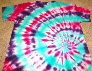 Покраска футболки
