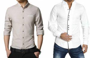 Приталенный фасон рубашки