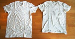 Села футболка после стирки