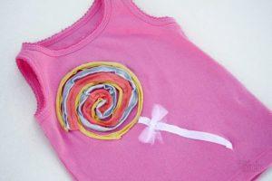 Украшение детской футболки