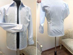 Как ушить рубашку по бокам