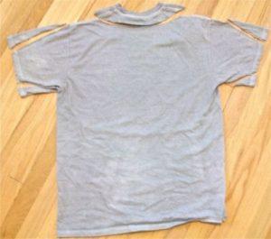 Как ушить футболку