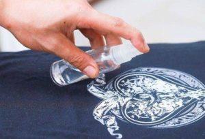 Удаление рисунка с футболки
