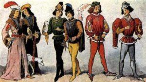 Лосины в 18 веке