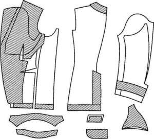 Термопластичные материалы для дублирования деталей жакета