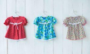 Детская одежда из кулирки