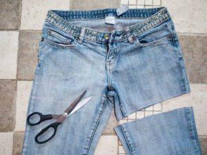 Как из брюк сделать шорты