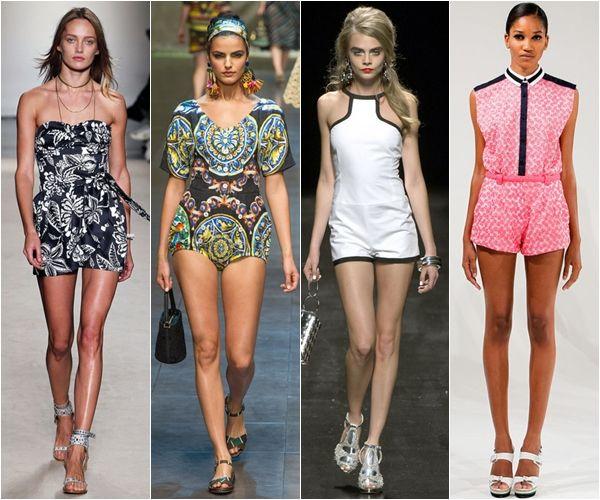 Модели летних женских комбинезонов
