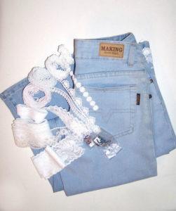 Кружево и джинсы