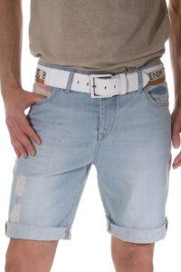Мужские шорты с отворотами