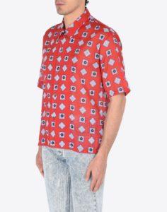Рубашка из ситца
