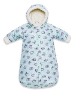 Комбинезон для новорожденного голубой