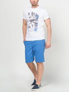 Синие мужские шорты
