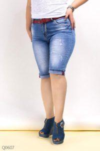 джинсовые шорты на пышные бедра